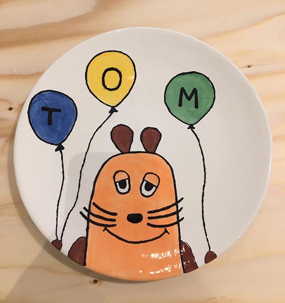 ein Teller wird zu deinem Teller