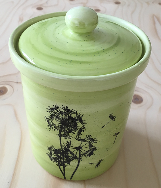 Keramik-Vorratsdose selbst bemalen